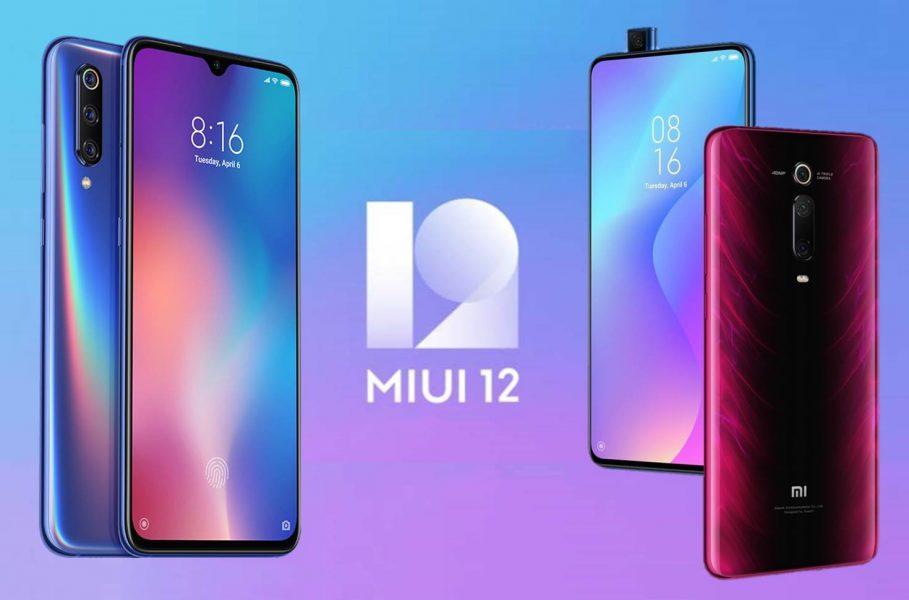 Actualización MIUI 12 global para Xiaomi Mi 9 y Mi 9T Pro