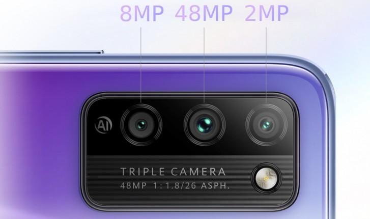 Características del Honor 30 Lite cámaras