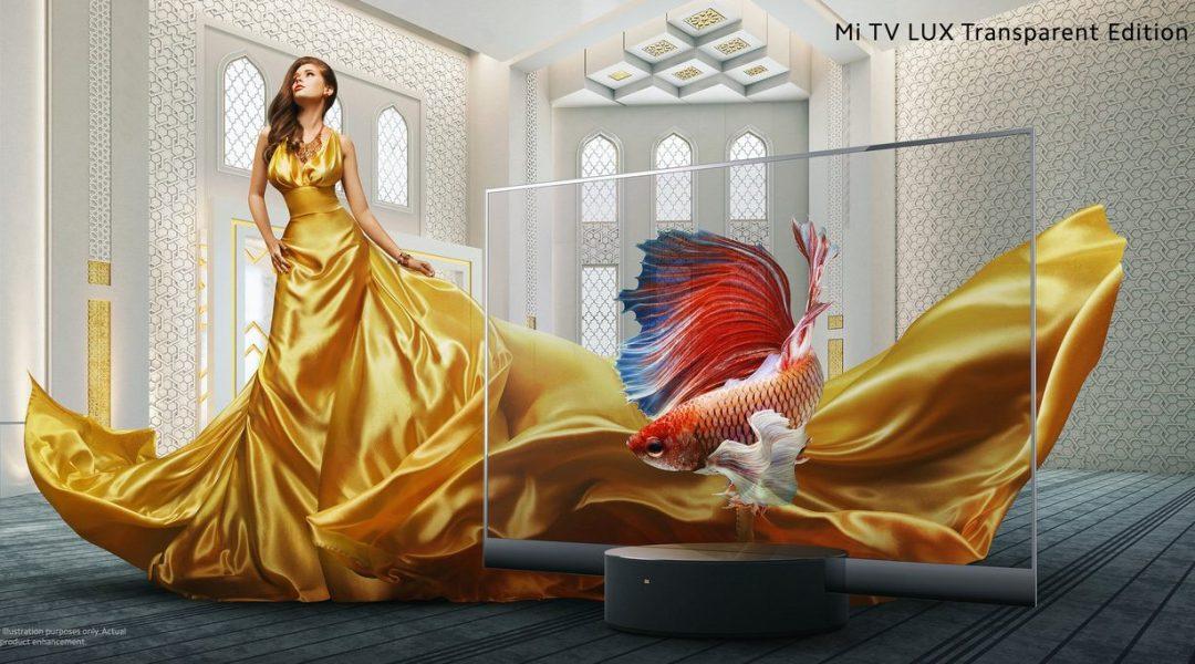 Características de Mi TV LUX Transparent Edition, precio