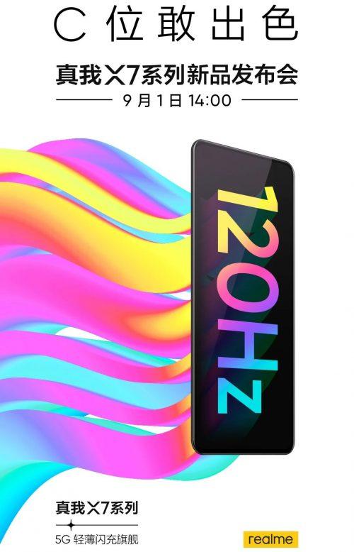 Lanzamiento del Realme X7 Pro, características
