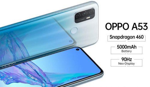 Nuevo móvil Oppo A53 2020 se oficializa con panel 90Hz y precio económico