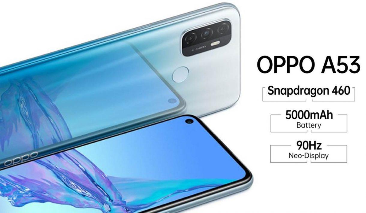 Móvil Oppo A53 2020, especificaciones y precio