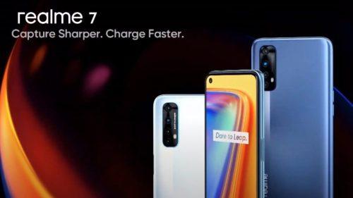 Características de Realme 7 y 7 Pro: baterías más grandes y mejor rendimiento