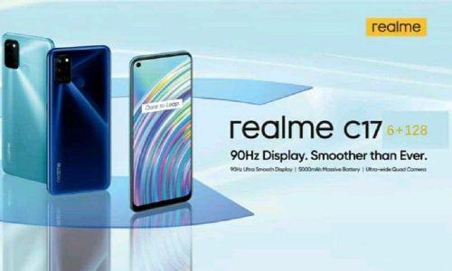 Realme C17: un gama media económico con 90Hz en pantalla