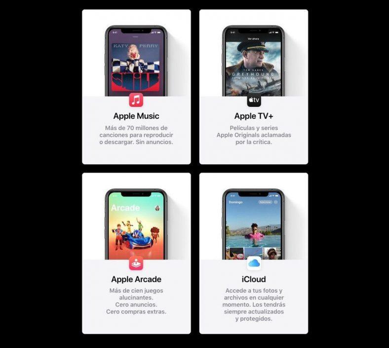 Apple One en España, paquetes y tarifas