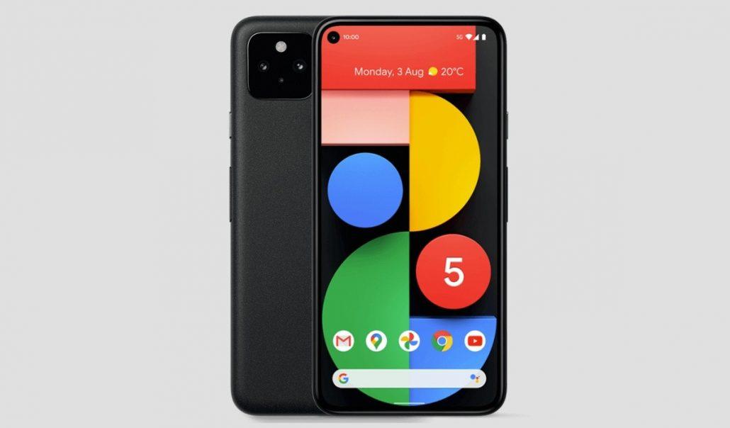 Características del Google Pixel 5, precio