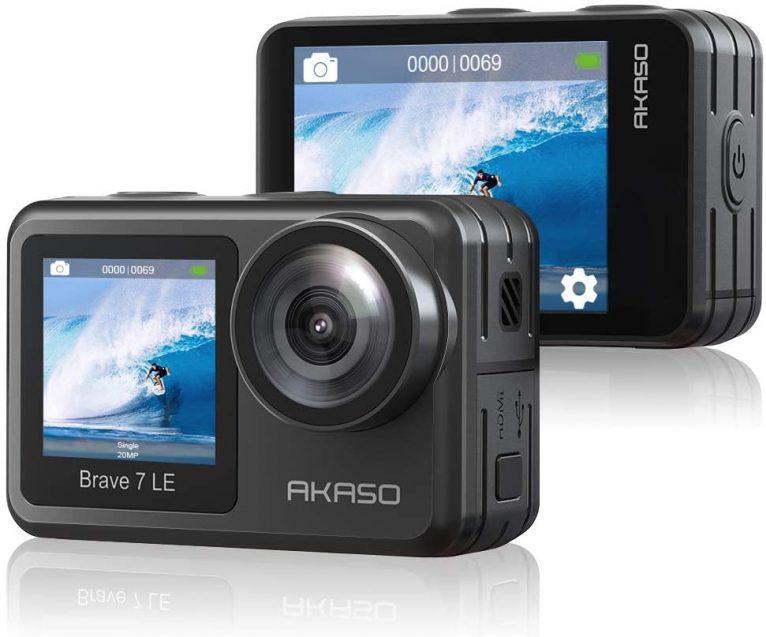 Review de cámara AKASO Brave 7 LE, características