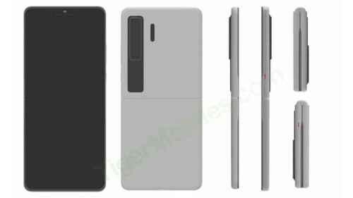 Este sería el Huawei Flip, el móvil plegable con un diseño innovador