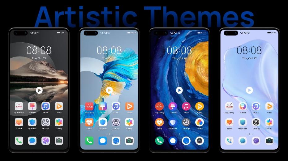 Características de EMUI 11 móviles Huawei