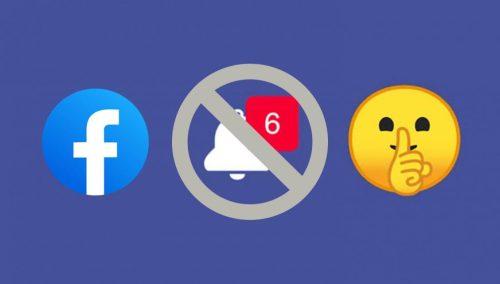 Cómo activar el Modo silencioso en Facebook
