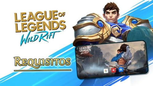 Requisitos de League of Legends Wild Rift