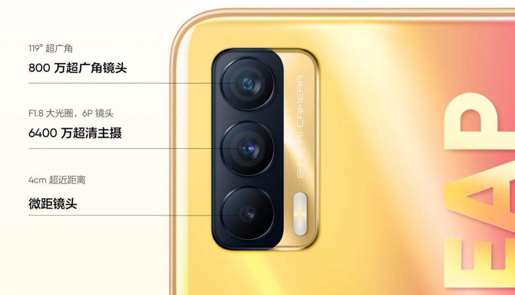 Características del Realme V15 5G cámaras