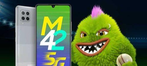 Características del Samsung Galaxy M42 5G: El primero de la serie con 5G