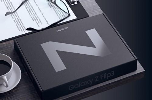 Nuevo render del Galaxy Z Flip 3 revela un móvil con un panel increíble