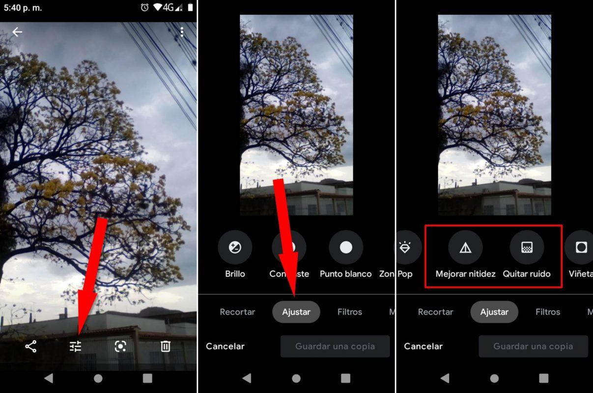 Cómo editar fotos con Google Fotos tutorial