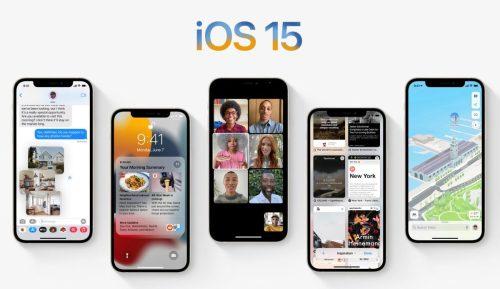 Seis nuevas características de Apple que están por llegar con iOS 15