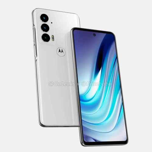 Imágenes del Motorola Edge 20 muestra un dispositivo con gran diseño