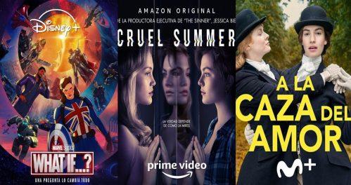 Nuevas series y películas en Disney+, Prime Video y Movistar+ en agosto de 2021
