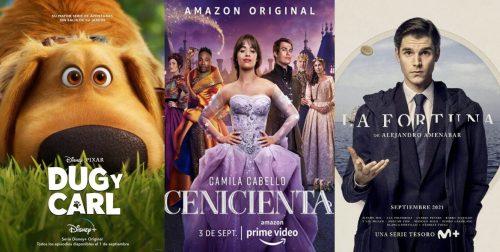Estrenos de series y películas en septiembre 2021: Disney+, Prime Video y Movistar+