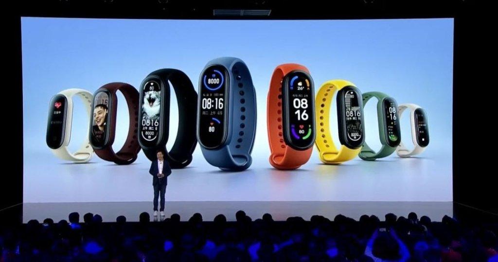 Xiaomi MI Band 6 con NFC