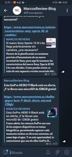 apps en Android e iOS-telegram