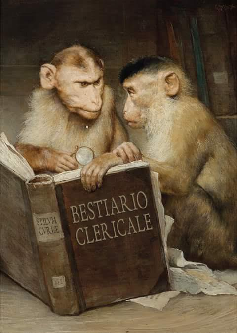 BESTIARIO. CLINTON (FELLATIO) UGUALE A MCCARRICK? BURKE: PICCOLE INFAMIE STRISCIANO. UNA DONNA SCRIVE A SPADARO.