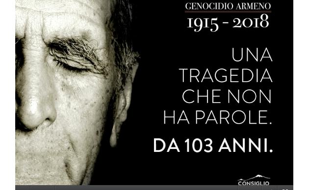 GENOCIDIO ARMENO. OGGI A ROMA COMINCIA IL RICORDO DEI MASSACRI TURCHI.
