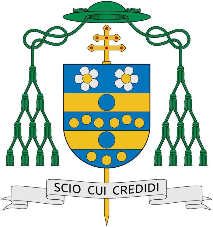 Archbishop Carlo Maria Viganò Crest