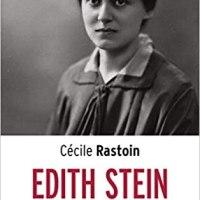 Edith Stein de Cécile Rastoin