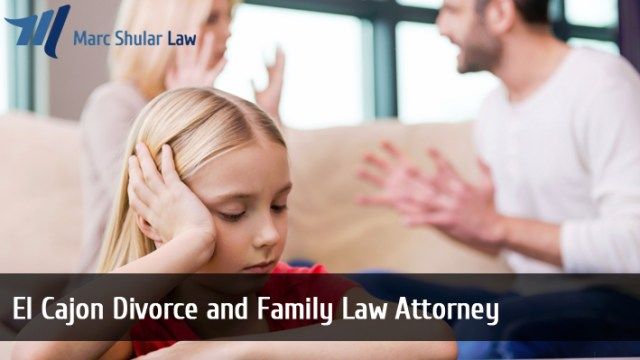 El Cajon Divorce and Family Law Attorney