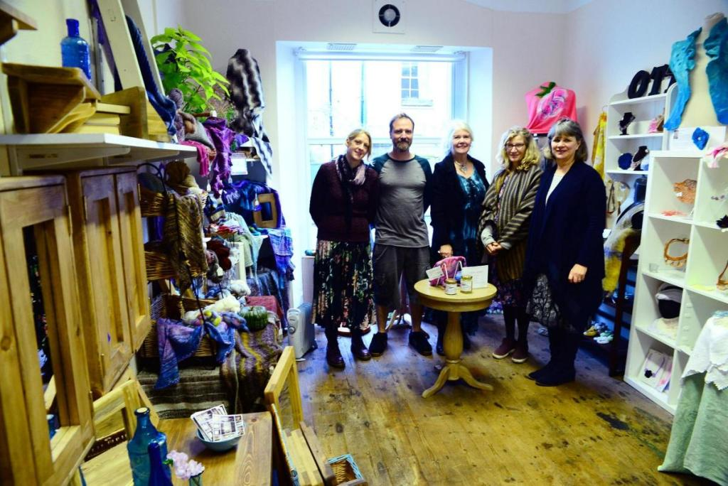 By offering a different shopping experience in Ilminster South Somerset, sharing the financial risk and dividing up time commitments, Alison Haggas, Caroline Cliffe, Joan Aslett, Nicola Kalocsai and ourselves are able to stand against the pressures currently felt by many independent retailers along our small town high streets.