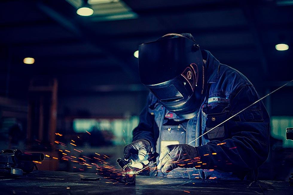 Stahlbau Industriefotografie