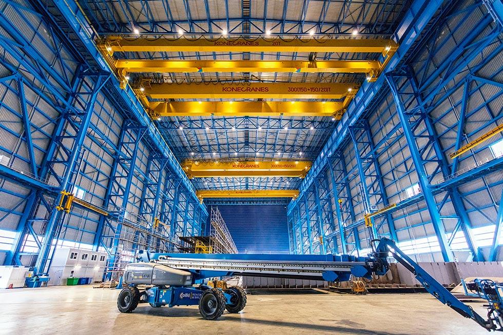 Industriefotografie Kone Cranes
