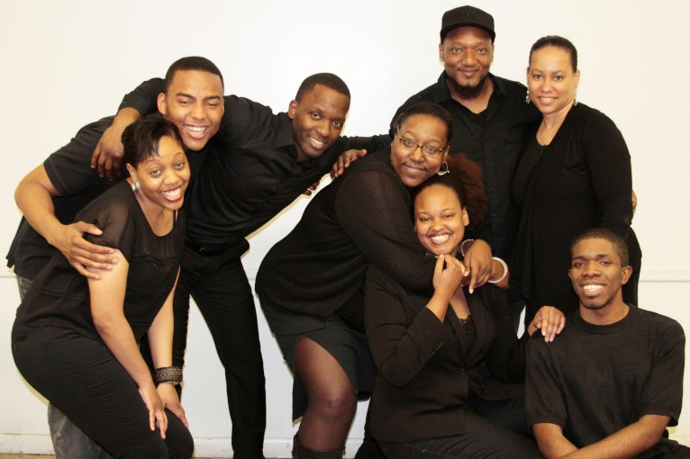 Cast of Between You, Me, and God. Photo credit: NuAFrikan Theatre.