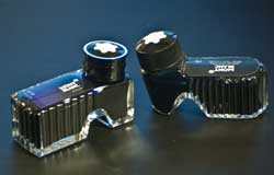 Montblanc new and old ink bottles