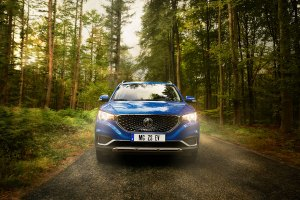 Advertising image for the MG ZS EV