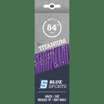 Blue Sports lila waxos fűző