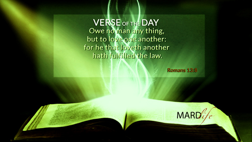 Verse Of The Day: Romans 13:7-11