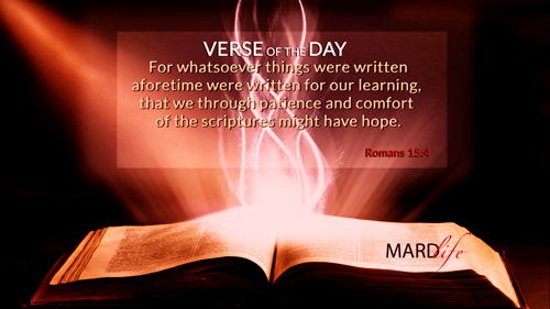 Verse Of The Day: Romans 15:1-6