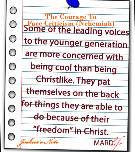 JOSHUA'S NOTE – THE COURAGE TO STIR UP THE FIRE (TIMOTHY)