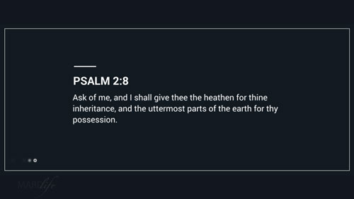 Verse Of The Day: Psalm 2:7-12