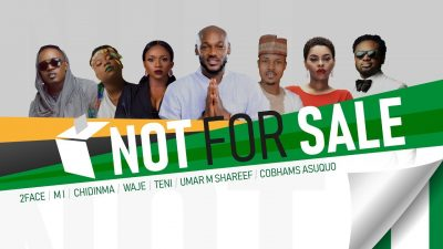Not For Sale - 2Baba, MI, Teni, Chidinma, Waje, UmarMSheriff And Cobhams (Song Of The Day)