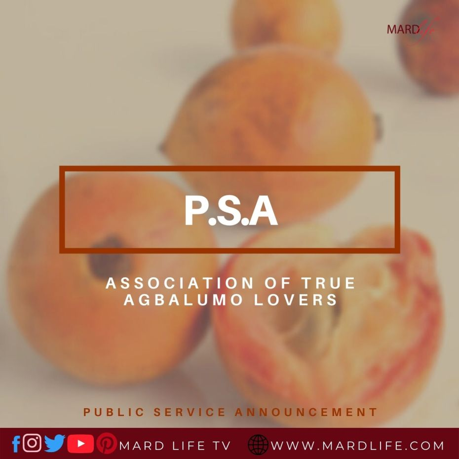 PSA: Association Of True Agbalumo Lovers