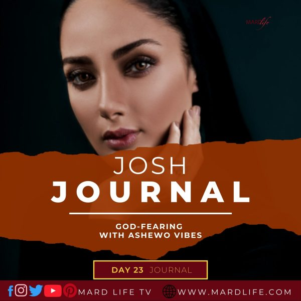 God-fearing With Ashewo Vibes - Josh Journal