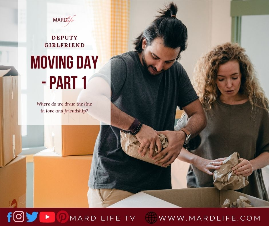 Moving, Moving Day, Best Friend, Parents, Girlfriend, Bestie, Teasing, Travelling, Father, Mother, Relocating, Fiction, Short Story, Series,