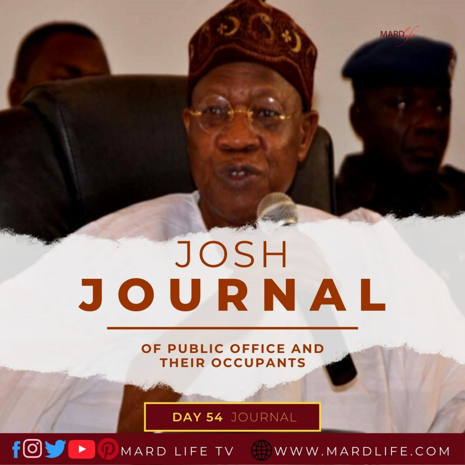 Of Public Office And Their Occupants – Josh Journal