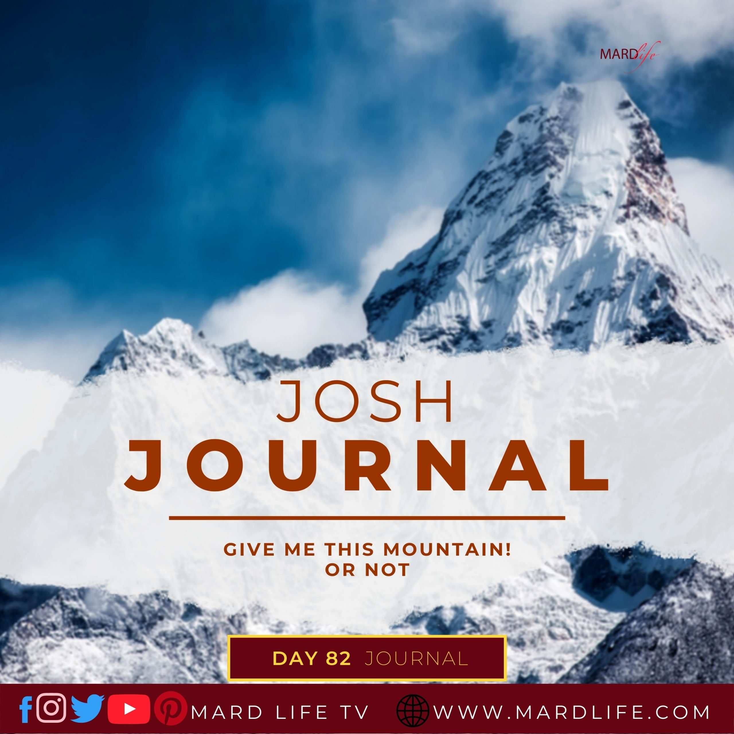 Give Me This Mountain, Mountain, Caleb, Joshua, Fatigue, Tired, Strength, Challenge, Opportunity, Weakness, Refreshed,