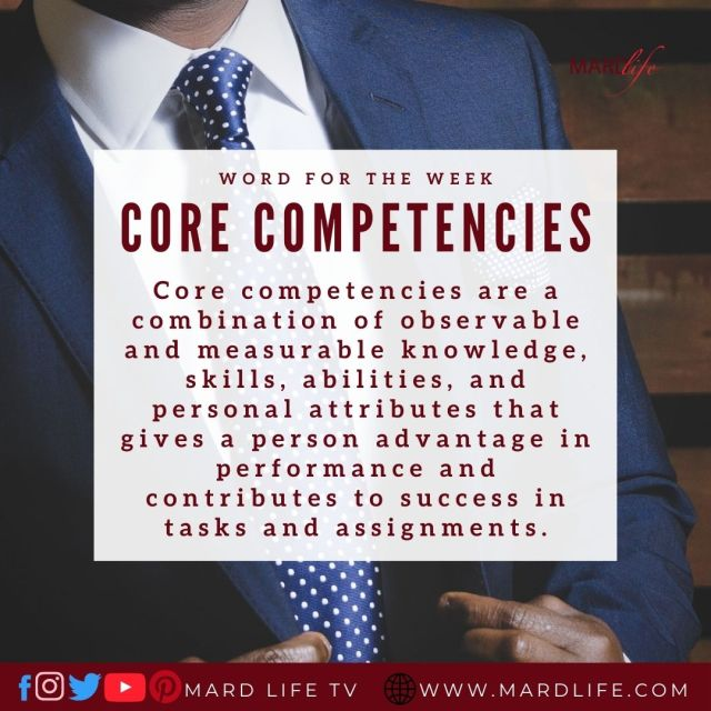 Core Competencies (Word For The Week)