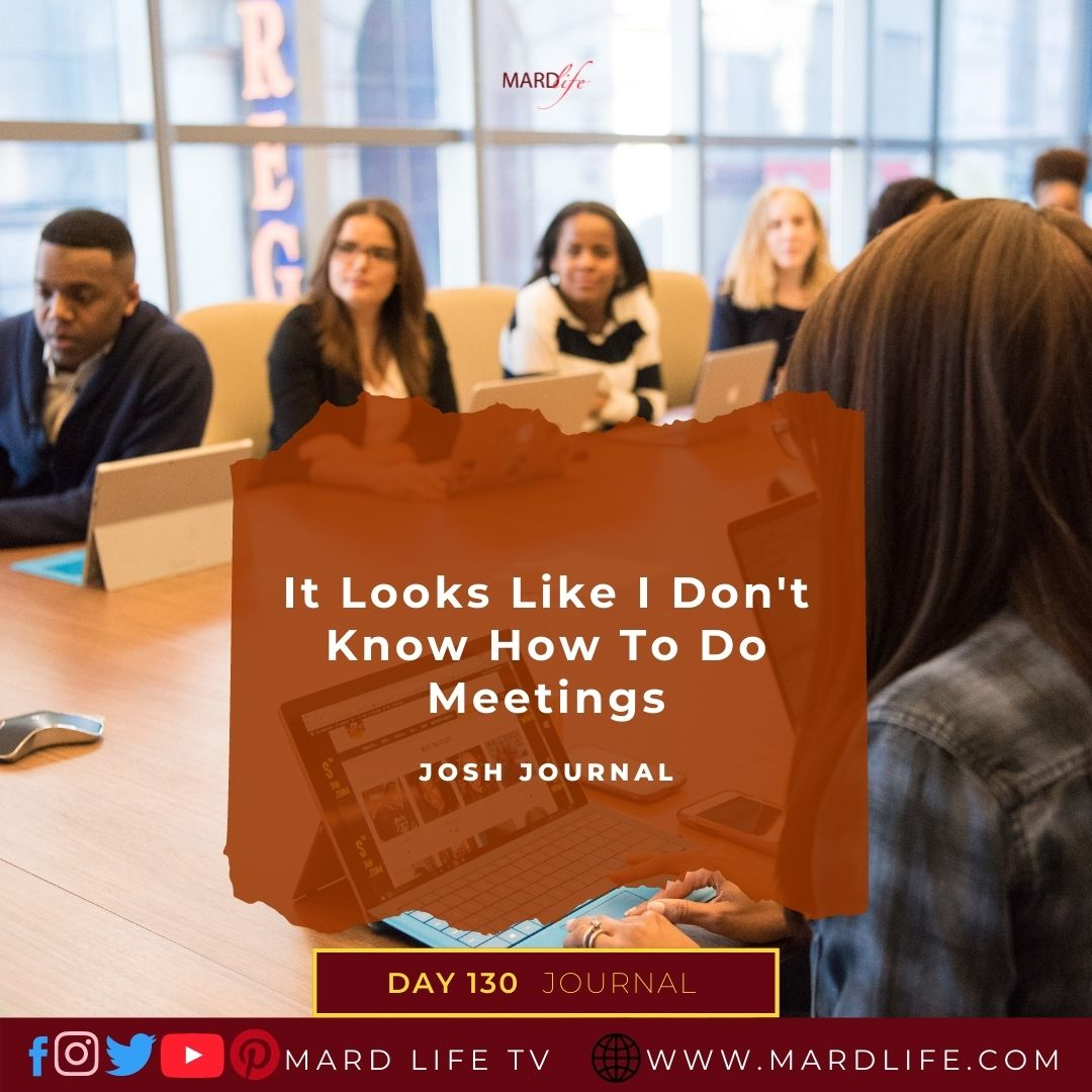 Meetings, Business Meeting, Office Meeting, Response, Solution, Repetition, Presentation, Self Control, Restraint, Patience,