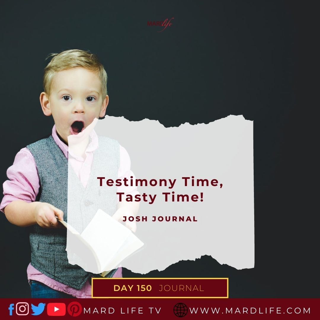 Testimony Time, Tasty Time, Sweet, Delicious, Testify, Church, Christian, Toddler, Childhood, Growing Up,